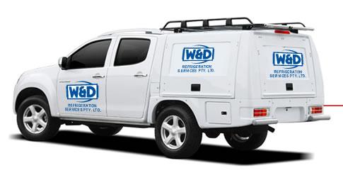 WD Refrigeration Ute